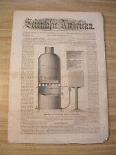 SA-9/30 1865- Thomas C. Theaker- Soda Water- Atlantic Cable- Dental Apparatus