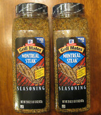 Lot of 2 Montreal Steak Grill Mates Seasoning McCormick Spice 29 oz each