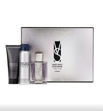Victoria's Secret Very Sexy Platinum For Him Cologne,Body Spray & Body Wash Set.