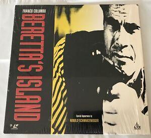 Beretta's Island Laserdisc Franco Columbo Arnold Schwarzenegger Bad 90s Movie