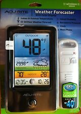 AcuRite Weather Forecaster with Color Display and Wireless Sensor