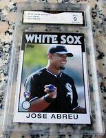 JOSE ABREU 2014 Topps SP 1986 Rookie Card RC Logo MINT 9 White Sox 2020 AL MVP $