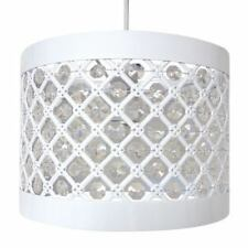 Easy Fit Moda Sparkly Ceiling Pendant Light Shade Fitting Modern Decoration Hwp137617 White