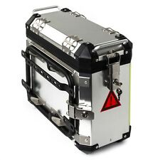 A-PRO 30L Silver Right Side Motorcycle Moto Suitcase