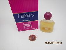 PAILLETES ENRICO COVERI PERFUME/EAU de TOILETTE FULL MINI .21oz/6.1mlSplash FULL
