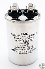 Motor Start Run Capacitor 15uF 370VAC 5% 50/60 Hz CBB65A-1 NEW (1 piece)