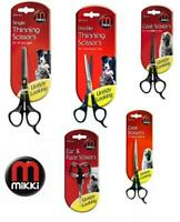 Mikki Dog Puppy Cat Grooming Scissors Thinning Coat Ear & Face Pet Trimmers