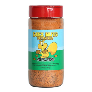 Meat Church Deez Nuts Honey Pecan BBQ Rub Barbeque Seasoning Outdoor Grilling