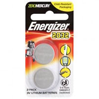 Energizer Coin Cell Battery- Car Remote 2 x3v Lithium Batteries-CR2032-FREE POST