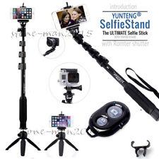 YUNTENG Selfie Stick Tripod Monopod+Bluetooth Remote  for iPhone X 8 7 Plus 6s