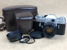 Leicaflex Camera w/ 50mm f/2 Summicron-R Lens,12564K Hood, Leather Case & Filter
