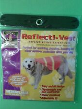 DOG REFLECTIVE SAFETY VEST MEDIUM LARGE 18+ lb NEW Outward Hound HIgh Visablity