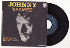 RARE SP JOHNNY HALLYDAY-ESSAYEZ-IMP JAT-FRENCH