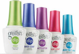 Harmony Nail GELISH DIP Prep for Dipping Powder Essentials (Prep,Base,Top, etc)