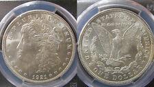 1921 P PHILADELPHIA S$1 NGC MS63 SILVER MORGAN ONE DOLLAR US COIN