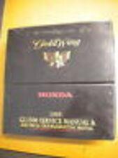 Honda 1995 GL1500 Service Manual & Electrical Troubleshotting Manual A SE I