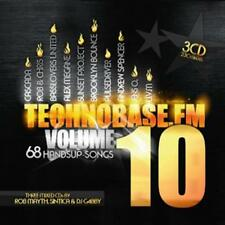 CD TechnoBase.FM 10 von Various Artists   3CDs