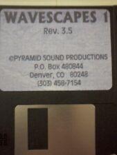 Kurzweil ~ WAVESCAPES vol.1 ~ Floppy Disk of Krz w/ V.A.S.T. Programs!!!