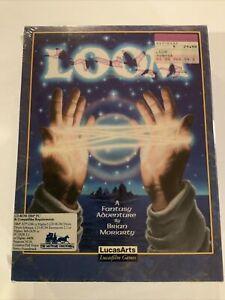 Loom LucasArts 1992 Talkie Version Shrink Sealed Unopened