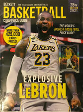 New 2021 Beckett Basketball Card Annual Price Guide 28th Edition w/ LeBron James