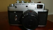 Russian Zorki-4K RF film camera, Industar 50 lens.Excellent Condition №73937609