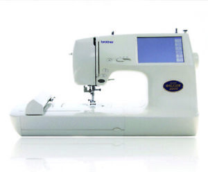 Machine A Coudre BROTHER Super Galaxie 2100 D Broderie Blanc