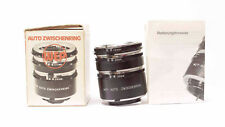 WEP auto entre anillos para Minolta SRT 12mm, 20mm, 36mm + embalaje original nº 958