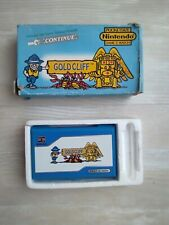 Nintendo Game and Watch Gold Cliff 1988 - Fonctionne parfaitement