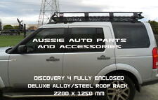 Fully Enclosed Deluxe Steel Roof Rack cage  2200mm for LANDROVER Discovery 3/4
