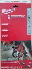 Milwaukee 3 pièces BI - Lame de scie ruban ,sangles remplacement,pour HD18 BS ,