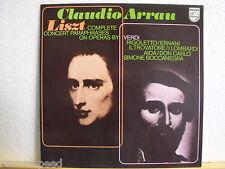 CLAUDIO ARRAU * Liszt * Verdi * Philips 6500 368 *