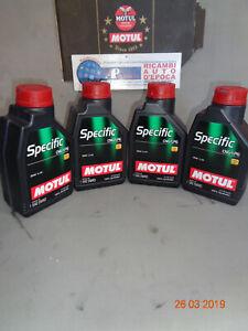 101717 OLIO MOTORE MOTUL SPECIFIC CNG/LPG 5W-40 ACEA C3 SM 100% SINTETICO 4 LT