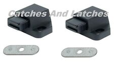 2 PACK MAGNETIC PUSH CATCH Pressure Touch Latch Kitchen Cabinet Cupboard Doors