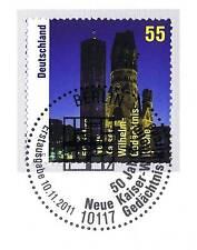 BRD 2011: Kaiser-Wilhelm-Gedächtniskirche Nr. 2898 mit Berliner Stempel! 1A! 155