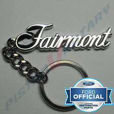 FAIRMONT KEYRING KEY CHAIN like badge Chrome for FORD FALCON XY XW XA XB 351 GT
