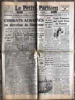 N15 La Une Du Journal Le Petit Parisien 10 Décembre 1941