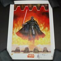 Darth Vader Signed by Dave Dorman Dynamic Forces Print #97 w/ Sketch & COA 2005