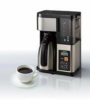 Brand New Zojirushi EC-YTC100XB Coffee Maker, 10 Cup, Stainless Steel/Black