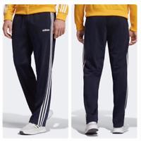 New Adidas Men's 3 Stripes Sweatpants Activewear Navy Blue S M L XL 2XL