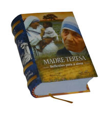 Madre Teresa Reflexōes para a alma in Portuguese capa dura de livro em miniatura