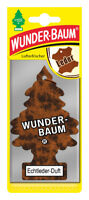 Wunderbaum® 10 Stück Echtleder Lufterfrischer Duftbaum Duft Auto Echt Leder
