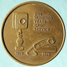 Southern Bell, 100 Years Commemorative Medal, Telephone Exonumia, token
