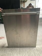 """Thermador DWHD440MFP 24"""" Complete Stainless Steel Dishwasher Door"""