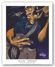 AFRICAN AMERICAN ART PRINT Movin String David Garibaldi