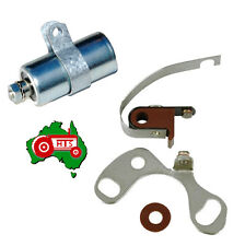 Tractor Ignition Points + Condenser Massey Ferguson TE20 TEA20 MF35 MF135 Petrol
