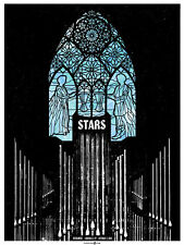 Stars October 2010 Limited Edition Gig Poster