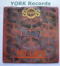 "SOS BAND - No Lies - Excellent Condition 7"" Single Tabu 650444 7"