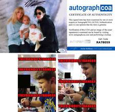 PRINCE JACKSON signed Autographed 8X10 PHOTO b PROOF - Michael Jackson Son ACOA