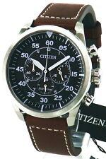 Citizen señores chronograph reloj deportivo Laco Eco-drive solar ca4210-16e