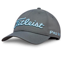NEW Titleist Tour Performance Adjustable Golf Hat / Cap Carribean Blue Charcoal